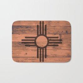 New Mexico State Flag Brand Bath Mat