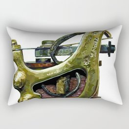 Machine four Rectangular Pillow