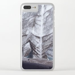 Glacier 04 - Iceland Clear iPhone Case