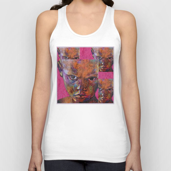 the magician - urban ART Unisex Tank Top
