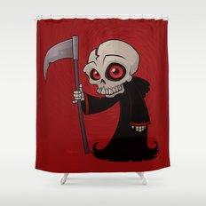 Little Reaper Shower Curtain
