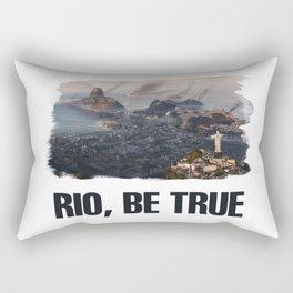 Rio, Be True Rectangular Pillow