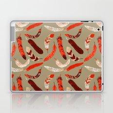 Flying Feathers Laptop & iPad Skin