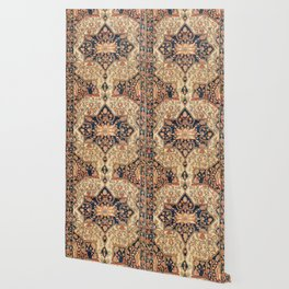 Ferahan  Antique West Persian Rug Print Wallpaper