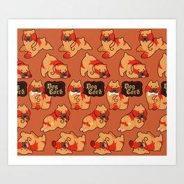 Dog Lord Art Print