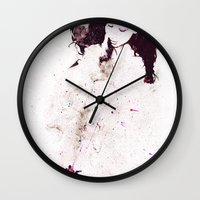 shining Wall Clocks featuring Shining by  Maʁϟ