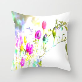 funny like m & m's Throw Pillow