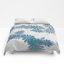 Blue torquise Comforters