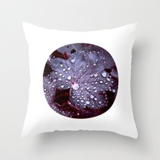night colors IX Throw Pillow