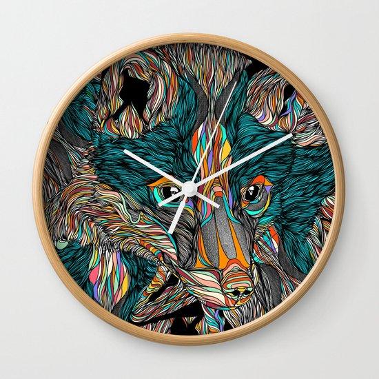 Fox (Feat. Bryan Gallardo) Wall Clock