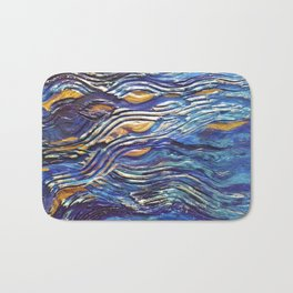 Abstract nautical background Bath Mat