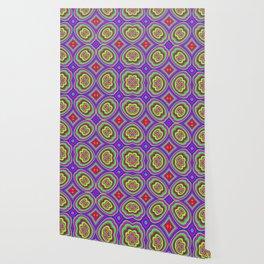 Pattern ALEX purple Wallpaper