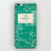the hobbit iPhone & iPod Skins featuring The Hobbit by Buzz Studios