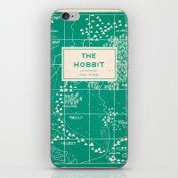 hobbit iPhone & iPod Skins featuring The Hobbit by Buzz Studios
