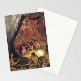 Cave Party Stationery Cards