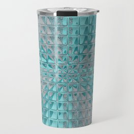 Aqua Reflections Travel Mug