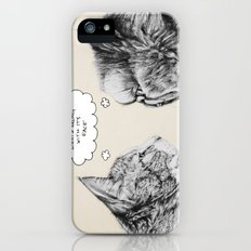 Cat Confusion iPhone (5, 5s) Slim Case