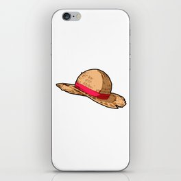 Luffy Straw Hat iPhone Skin