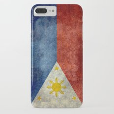 Republic of the Philippines national flag (50% of commission WILL go to help them recover) Slim Case iPhone 7 Plus