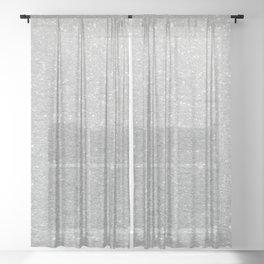 Snow Sheer Curtain