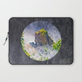 Rock in the falls Laptop Sleeve