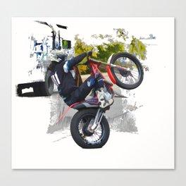 Gas Gas ec300 Stunt Rider Canvas Print