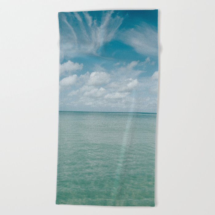 The Gulf Of Mexico Beach Towel By