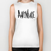 adventure Biker Tanks featuring Adventure by Leah Flores