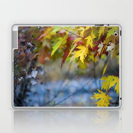 Golden leaves Laptop & iPad Skin