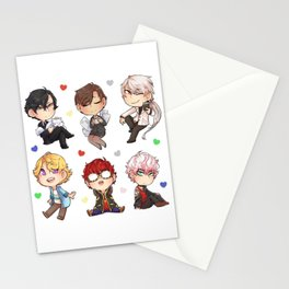 Mystic Messenger Chibis Stationery Cards