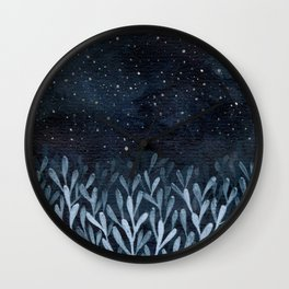 Night Wave Wall Clock