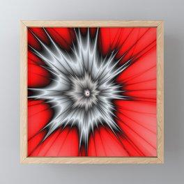 Crazy, Abstract Fractal Art Framed Mini Art Print