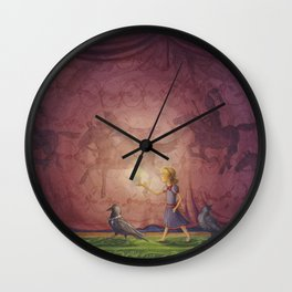 The Dream Room Wall Clock