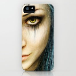 Unstoppable: A Vampiric Warrior iPhone Case