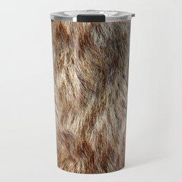Alaska Faux Fur Travel Mug