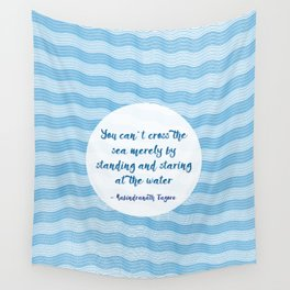 Tagore by the Sea Wall Tapestry