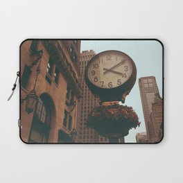The Sherry Netherland Clock Laptop Sleeve