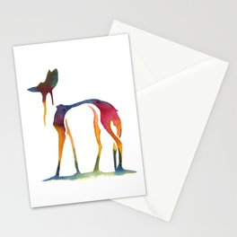Maned Wolf Drip Stationery Cards