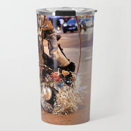 Performance Art on the Streets of Bucktown, Chicago 02 Travel Mug