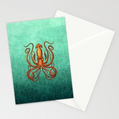 Giant Squid 2 Stationery Cards