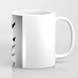 under dry roots. Coffee Mug