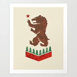 California Sigil Art Print