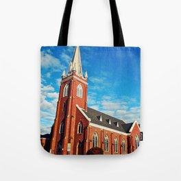 Visitation Catholic Church Tote Bag