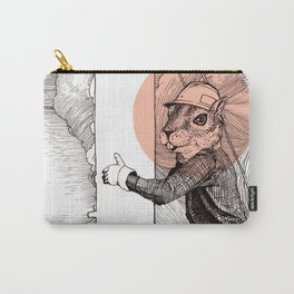 Utility Pole Squirrel Carry-All Pouch