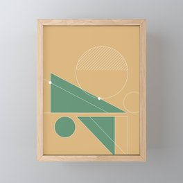Abstract Composition - 07 Framed Mini Art Print