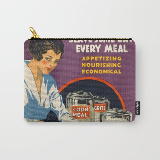 Vintage Corn food Carry-All Pouch