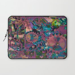 Steampunk,abstract Laptop Sleeve