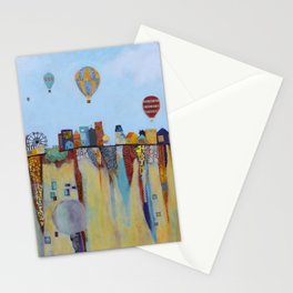 """""""Over and Under"""" Stationery Cards"""