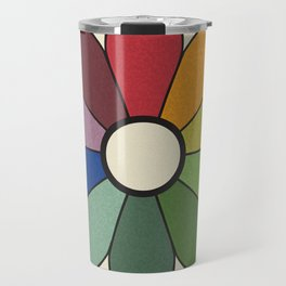 James Ward's Chromatic Circle (no background) Travel Mug