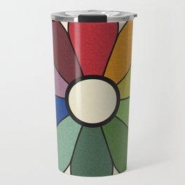 James Ward's Chromatic Circle (no background) Travel Mug